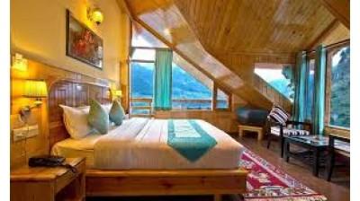 Pangot Himalayan view